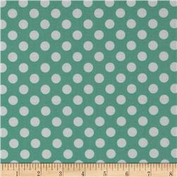 Jungle Polka Dot Teal