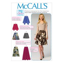 McCall's Misses' Skirts Pattern M6994 Size 0Y0