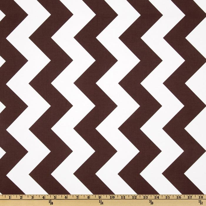 Riley Blake Chevron Large Brown