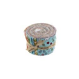 Riley Blake Vintage Happy Rolie Polie Multi