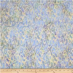 Island Batik Cloud Tan/Blue Amoeba