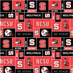 Collegiate Fleece North Carolina State University Blocks
