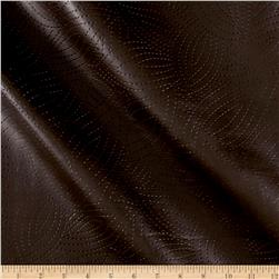 Richloom Tough Faux Leather Kensington Chocolate
