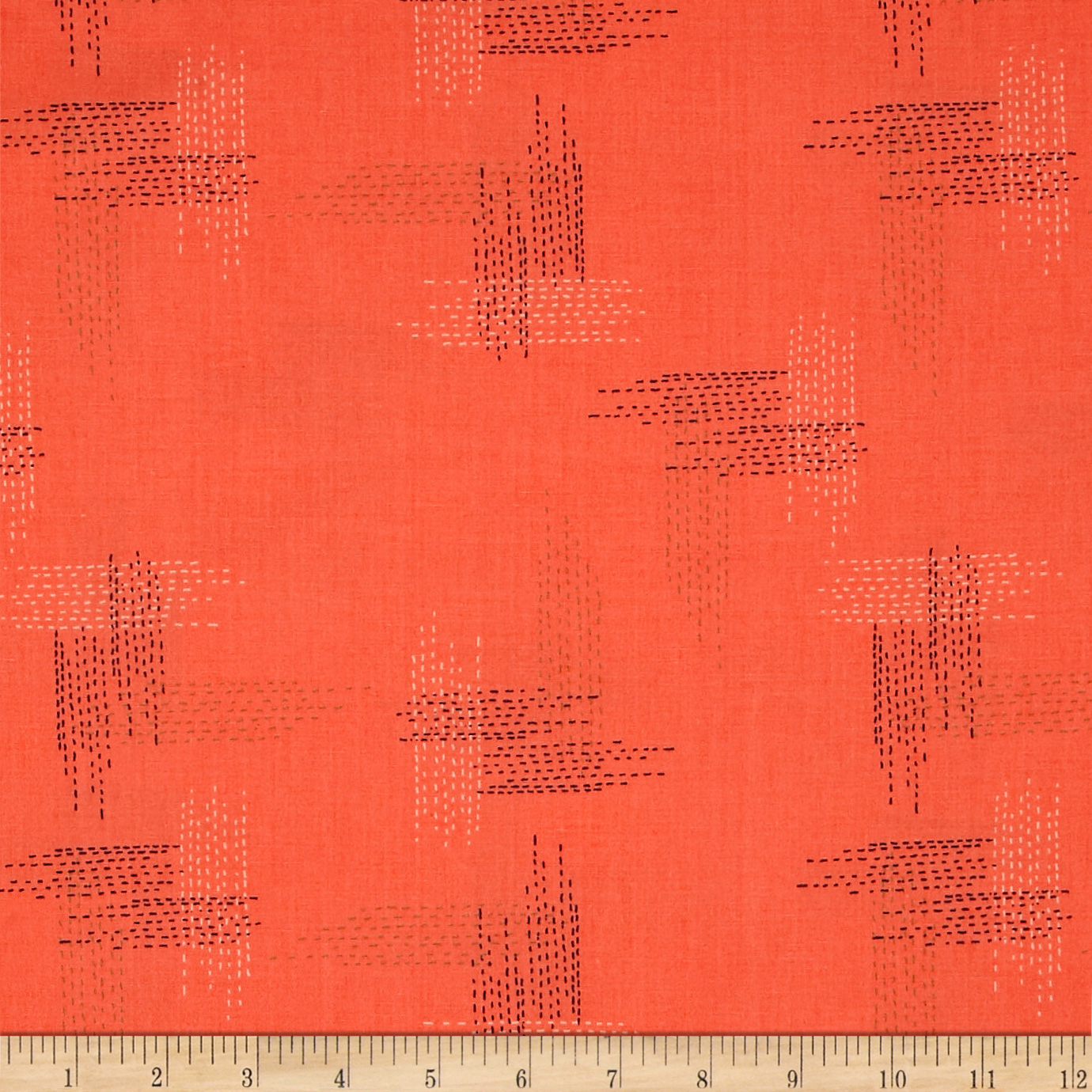 Picture of Art Gallery Woodlands Fusion Miss Thread Fabric