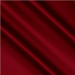 Stretch Charmeuse Satin Maroon