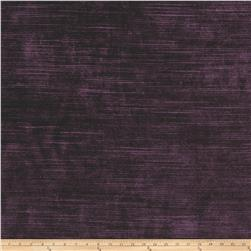 Fabricut Highlight Velvet Aubergine