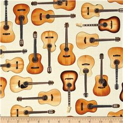Kaufman In Tune Acoustic Guitars Ivory