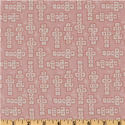 Michael Miller Children at Play Hopscotch Soft Pink