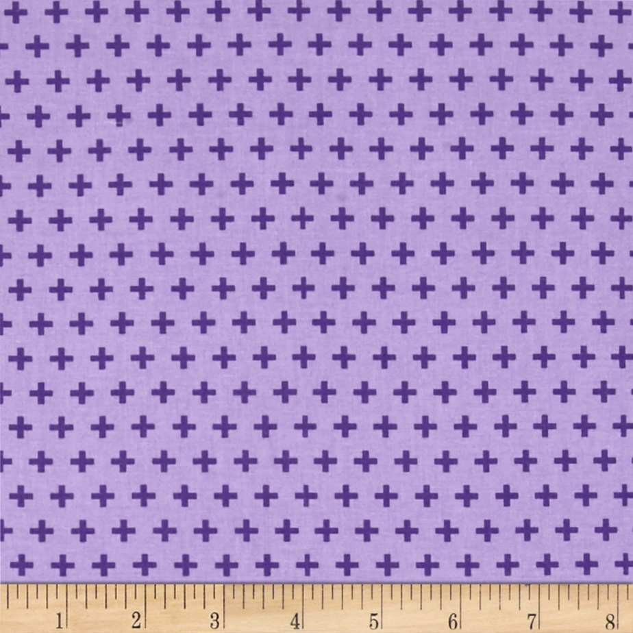 Meet The Royal Court Crosses Purple Fabric by Windham in USA