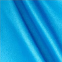 Poly Charmeuse Satin Turquoise Fabric