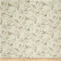 French General Aviary Toile Linen Bisque