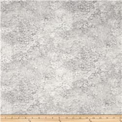"Artisan Spirit Shimmer 108"" Wide Quilt Back White/Grey"
