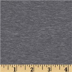 Activewear Knit Solid Heather Grey