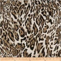 Angeline Chiffon Leopard Brown