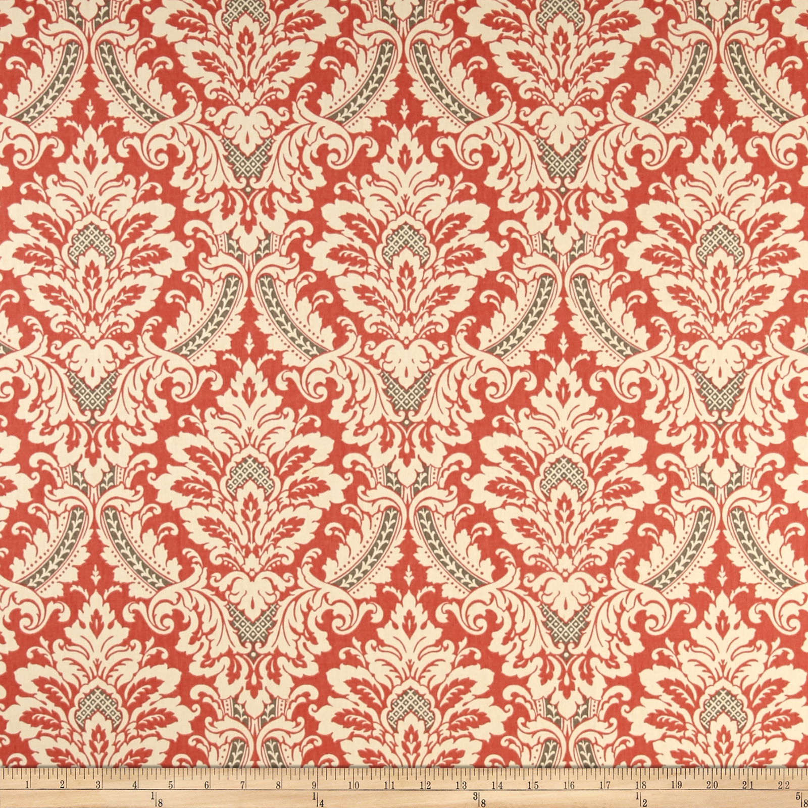 Waverly Donnington Clay Fabric by Waverly in USA