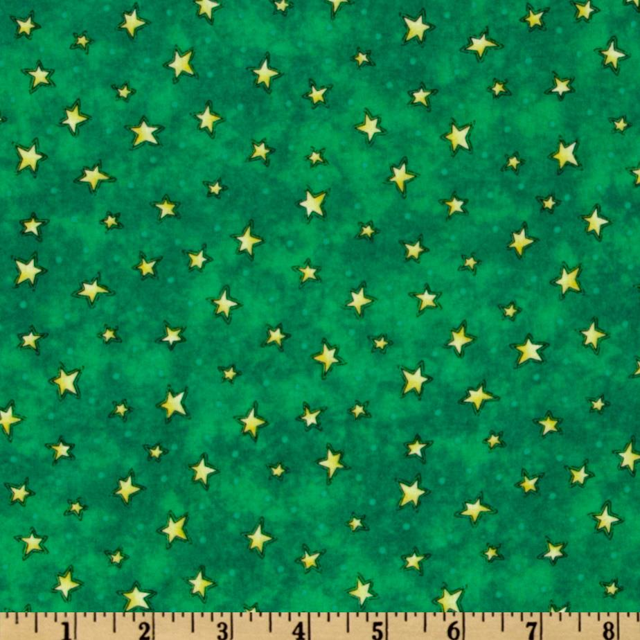 The King's Arrival Stars Green