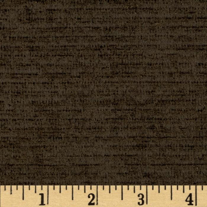Ramtex Empress Textured Velvet Brown