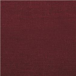 Homespun Basics Solid Burgundy Fabric