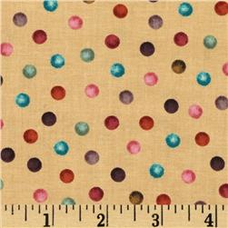 Interlude Michele's Dots Tan