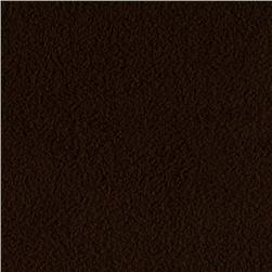 Winterfleece Micro Chamois Chocolate Fabric