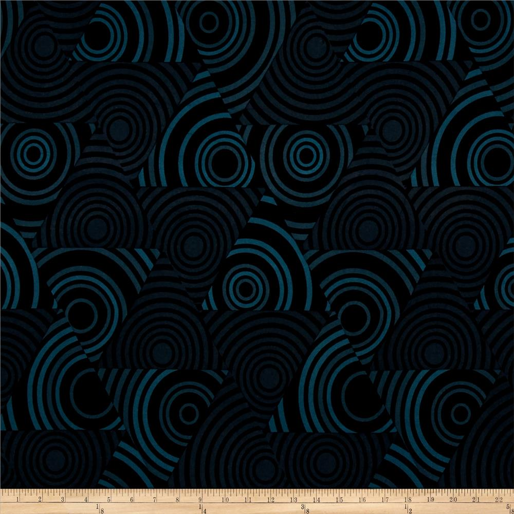 Kanvas Tiffany Collection Art Reflections Eclipse Teal