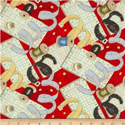 Sew Fun! Notions Red/Multi