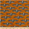 All Hallow's Eve Bats Orange
