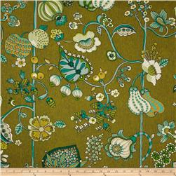 Richloom Delphine Sateen Jungle Green