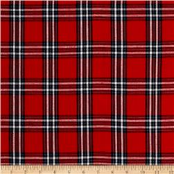Madras Large Plaid Red/Navy