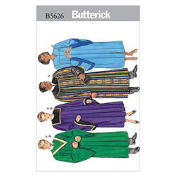 Butterick Unisex Robe and Collar Pattern B5626 Size OSZ