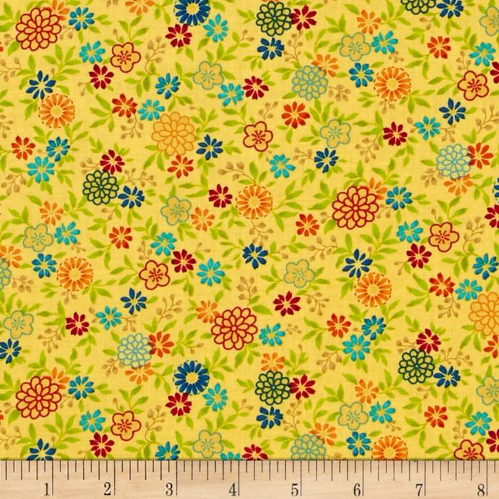 Salsa Flowers Yellow