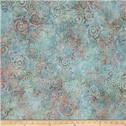 Kaufman Natural Formation Batiks Flower Burst Mist