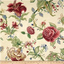 Waverly Montague Damask Parchment