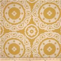 Richloom Valeta Jacquard Gold Fabric