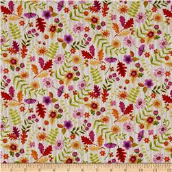 Jennifer Brinley Enchanted Forest Flowers Cream
