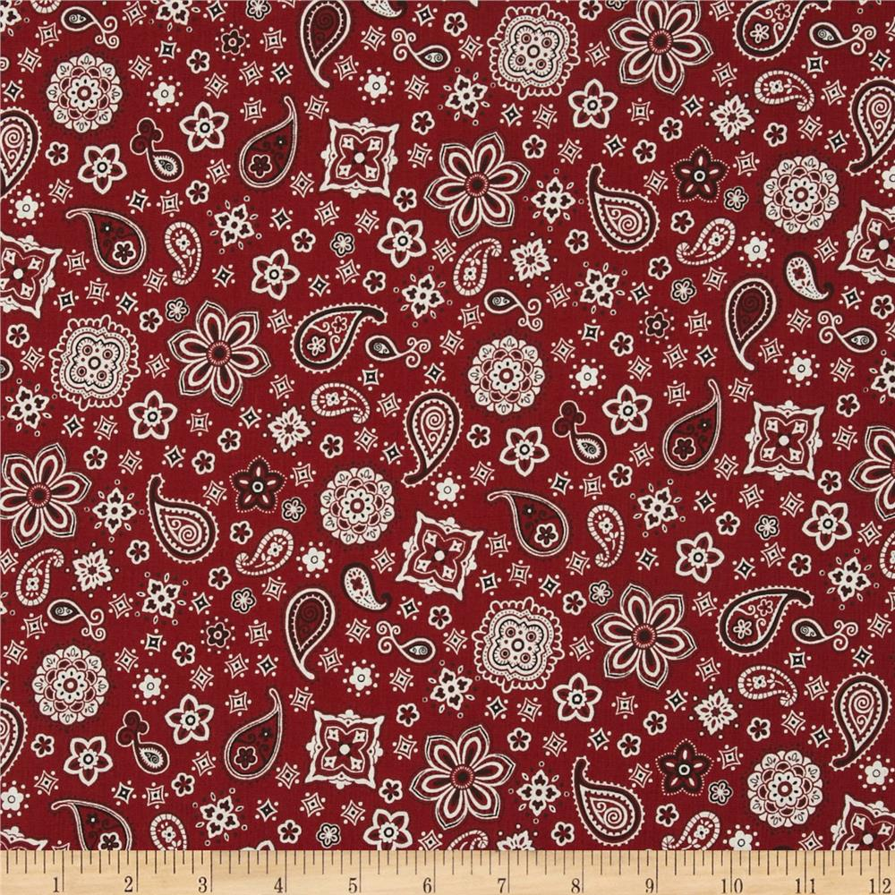 Red River III Bandana Red