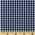 "Woven 1/8"" Gingham Navy"