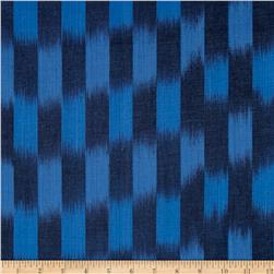 Andover Dream Weaves Ikat Patch Denim