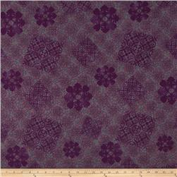Koshibo Medallion Purple