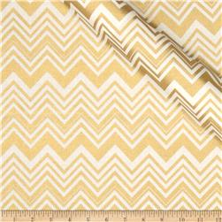 Jackie Heavy Metal Collection Chevron Metallic Gold