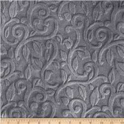 Minky Vine Cuddle Plata Fabric