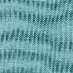Vintage Poly Burlap Tiffany Blue Fabric