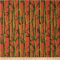 Terrasol Indoor/Outdoor Bamboo Coral Fabric
