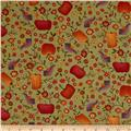 Autumn Song Pumpkin Novelty Green
