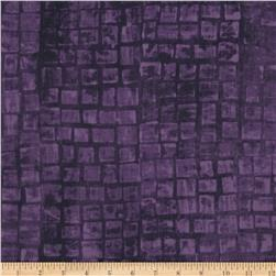 Mosaic Tiles Purple
