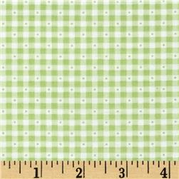 Sorbets Gingham Green