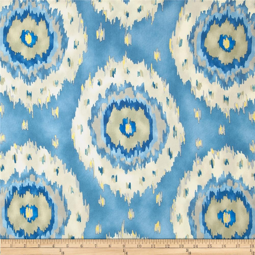 Richloom Ikat Alhambra Twill French Blue