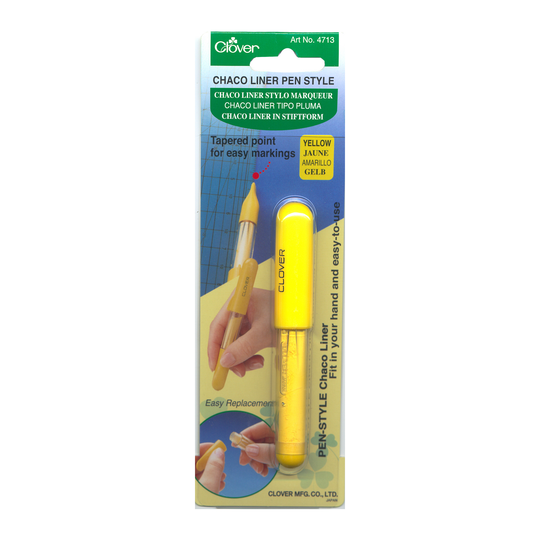 Image of Clover Chaco Liner Pen Yellow