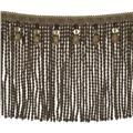 "Fabricut 9"" Mountain Resort Bullion Fringe Desert"