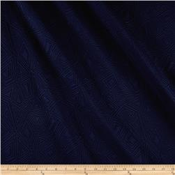 Quilted Triangle Knit Navy